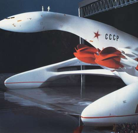 Luigi Colani's Futuristic Planes, Trains and Automobiles