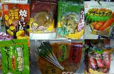Healthy Snack Vending Machines - Japanese Feast on Sweet Potato Cookies