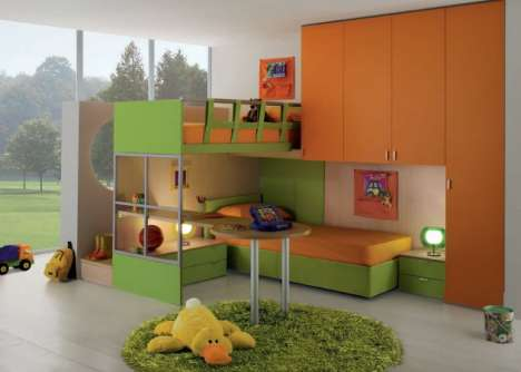 Bright Contemporary Kid's Furniture - GAB's Colorful Child-Friendly Designs