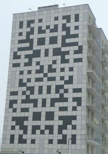 Puzzling Public Buildings - The Crossword Mural is Solved with Clues Hidden in the City