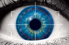 Biometric Eye Scans - More Distinctive than a Fingerprint for Identification