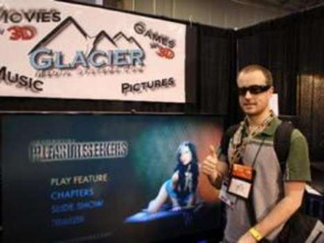 3D Adult Movies - Glacier IceBerg Entertainment System is Naughty's Next Frontier (CES 2009)