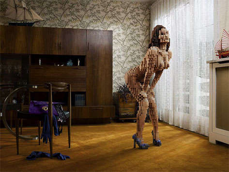 Hot Pixelated Photos