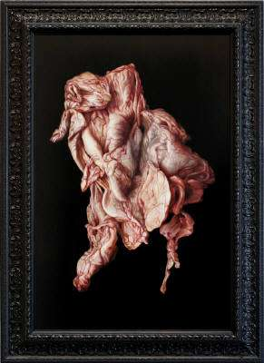 Offal Masterpieces - Gruesome Slaughterhouse-Inspired Artwork by Victoria Reynolds