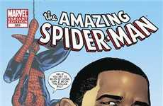 Political Comic Book Cameos - Barack Obama Stars on January's Spider-Man Cover