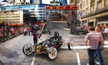 Revolutionary Futuristic Racecars