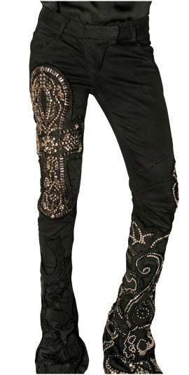 $10,000 Black Jeans