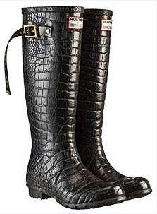Designer Rain Boots: Couture Hunter