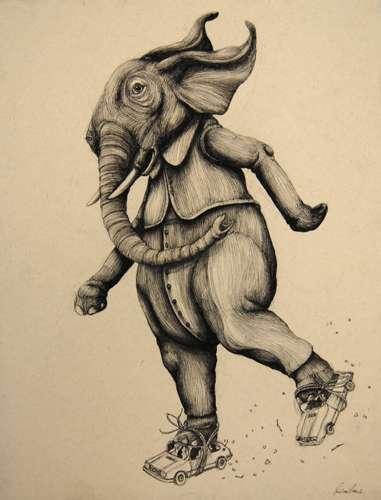 Vengeful Animal Illustrations