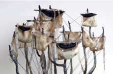 Nautical Taxidermy Fusions - Mounted Animal Sculptures With an Ocean Theme by Elizabeth McGrath