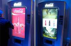 Touchscreen Soda Machines