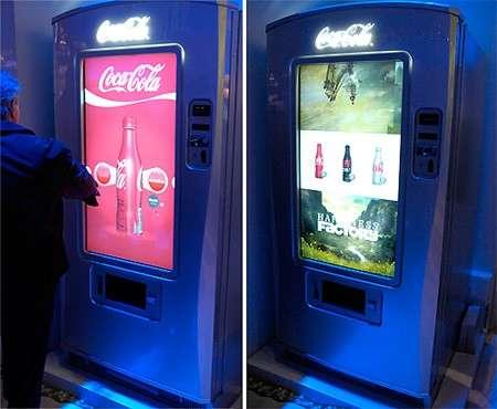 Touchscreen Soda Machines