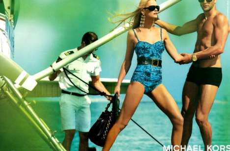 Paparazzi Fashion Campaigns - Michael Kors Cruise 2009 Ads Look Like Tabloid Shots