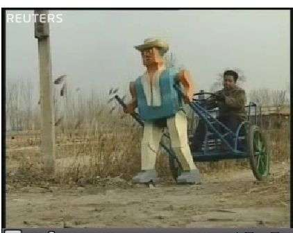 "Chinese Farmer Creates Robotic ""30 Second Son"""