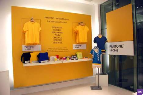 Pantone Fashion - Gap Pop-Up Shops Themed Around Pantone Color 'Mimosa'