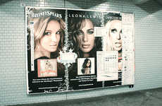 Guerrilla Adbusting - Street Artists FTW-Crew Add Photoshop Toolbox to Subway Ads