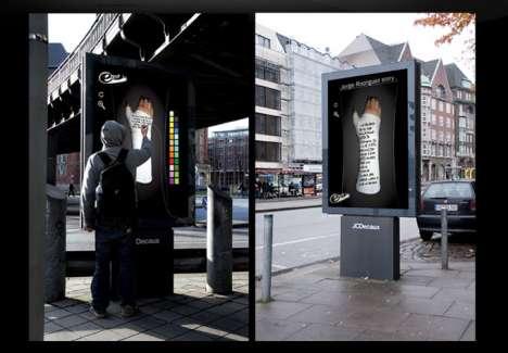 Interactive Graffiti Billboards