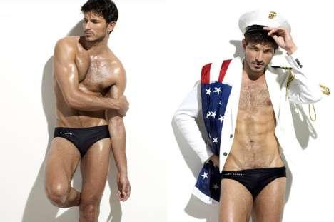 River Boat Captains as Swimsuit Models