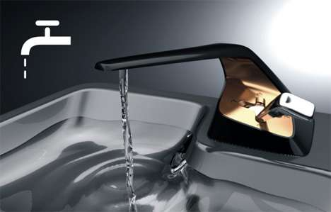 Fast and the Furious Faucets - Gold and Black Eco Faucets From Shen Di
