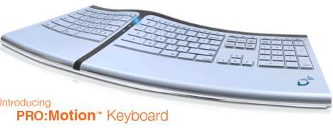 Super-Ergonomic Peripheral Adjusts to Your Typing Style
