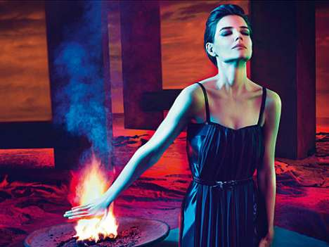 Katie Holmes Sizzles in The Spring/Summer 2009 Mui Mui Ads