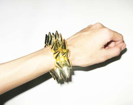 Spiky Bracelets Keep People at a Distance, Stylishly