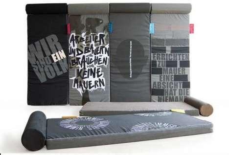 Berlin Wall-Inspired Beds