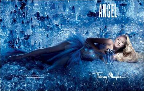 Fairytale Perfume Ads - Naomi Watts Wishes on a Star for 'Angel' by Thierry Mugler