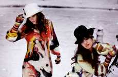 Jazzy Oversized Jumpers - Snowtastic Sweaters From Sonia Rykiel's A/W '08 Collection
