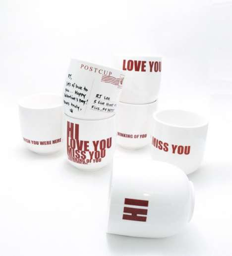 Post Cup Allows You to Send Messages on Mugs