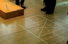 Projected Hopscotch Courts