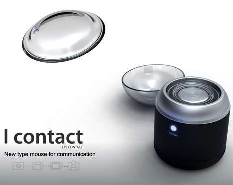 Cyborg Contact Lenses - Control Your Mouse with Your Eye Movements