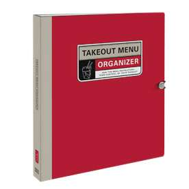 This Binder Keeps Your Delivery Options in Order