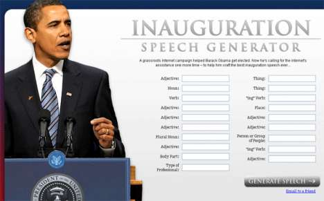 Mad Libs-Style Speechwriting