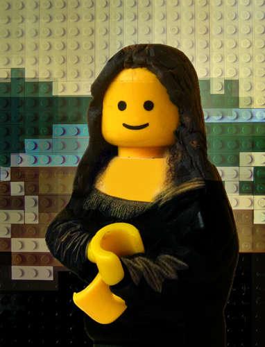 Classic Artwork in LEGO