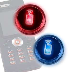 Silent Ringtones For Clubbing - Mathmos Flashing Badge Lets You Know When Your Phone Rings