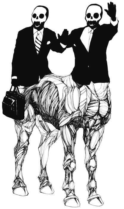 Masculine Gloom Drawings