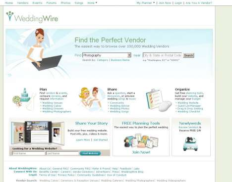 One-Click Wedding Planners - WeddingWire Places 100,000 Matrimonial Experts at Your Fingertips