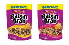 Cereal-Inspired Granolas - Raisin Bran Granola Gives a Classic Cereal a Contemporary Upgrade