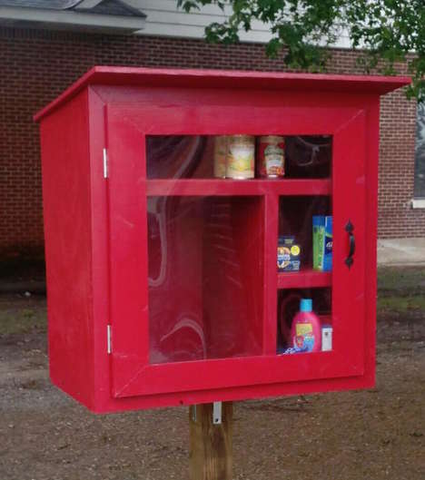 Karma-Inspired Community Donations - The Little Free Pantry is Uniting an Arkansas City With Charity