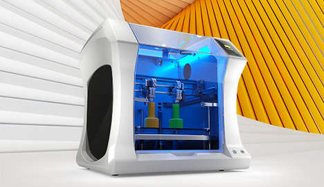 Mirroring 3D Printers - Leapfrog's 'Bolt' is a Fast 3D Printer with Dual Heads