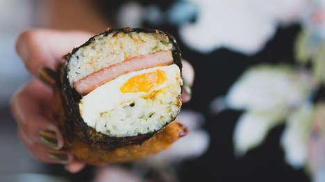 Fried Spam Sushi