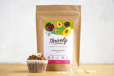 Superfood Muffin Mixes - Thrively's Healthy Baking Mixes are Packed with Beneficial Ingredients