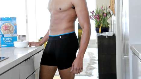 Odorless Male Underwear - This Odorless Underwear Has Features That Prevent It from Riding Up