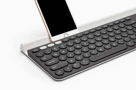 Slender Multi-Device Keyboards