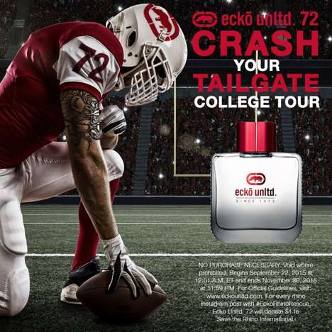 Student-Targeted Fragrance Campaigns - The Ecko Unltd. 72 Campus Tour Targeted College-Age Men