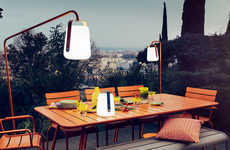 Bucket-Like Outdoor Lamps - These Bright Outdoor Lights are Lightweight and Rechargeable