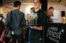 Supermarket Wine Pop-Ups - Tesco Launched the 'Finest' Pop-Up Wine Bar to Showcase Its Wines
