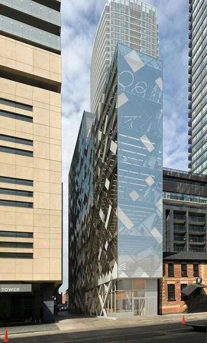 Multi-Storey Restaurant Towers - This Project Proposal Aims to Create Eight Storeys of Restaurants