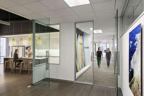 Thematic Underwater Office Designs